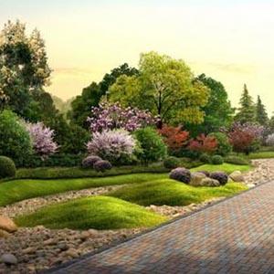 供兰州室内外景观和甘肃园林景观工程特点
