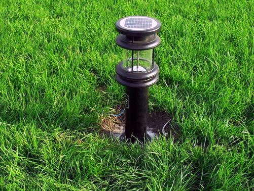 扬州弘旭照明销售太阳能草坪灯户外防水家用太阳能灯