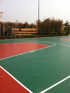 山东硅pu球场塑胶球场施工厂家