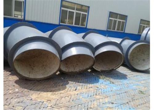 陶瓷贴片耐磨管回粉管道,潍坊陶瓷贴片耐磨管,渤洋管道(多图)