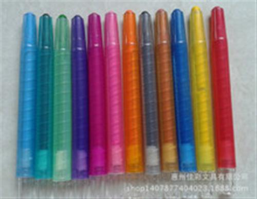 惠州市佳彩文具,蜡笔,惠州旋转蜡笔厂家供应