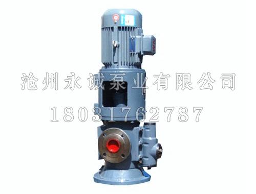 SNS立式三螺杆泵永诚泵业生产
