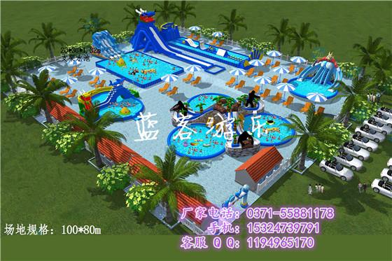 2017郑州移动水上乐园项目规划设计