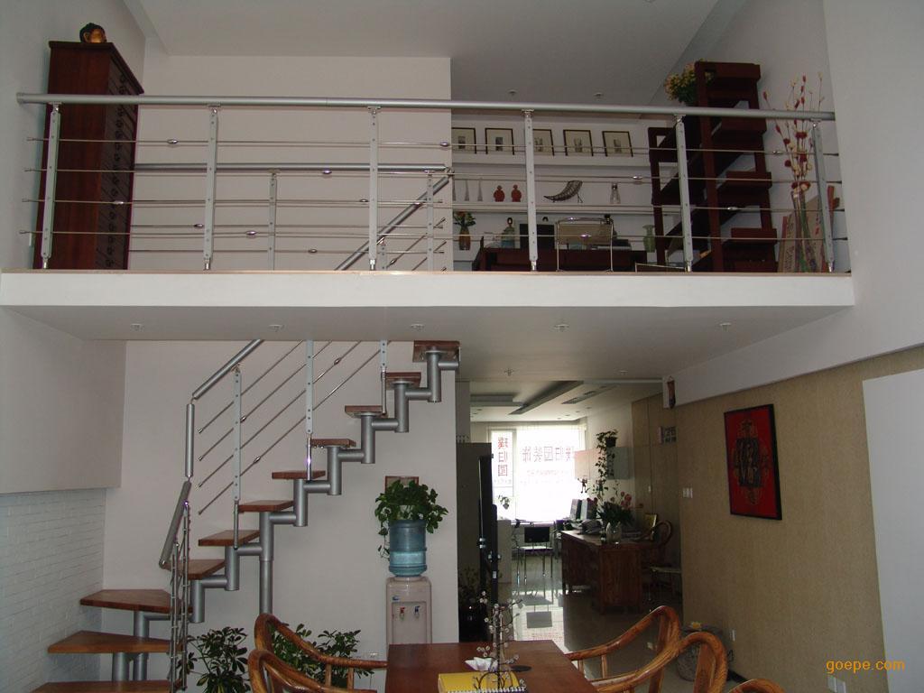 石家庄复式阁楼搭建顶楼安装钢结构隔层价格