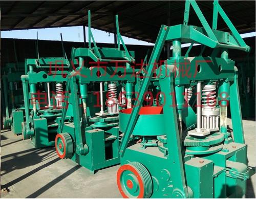 厂家直销高效节能蜂窝煤机 新型农用秸秆煤球机 多孔蜂窝煤打煤机生产线设备价低质保