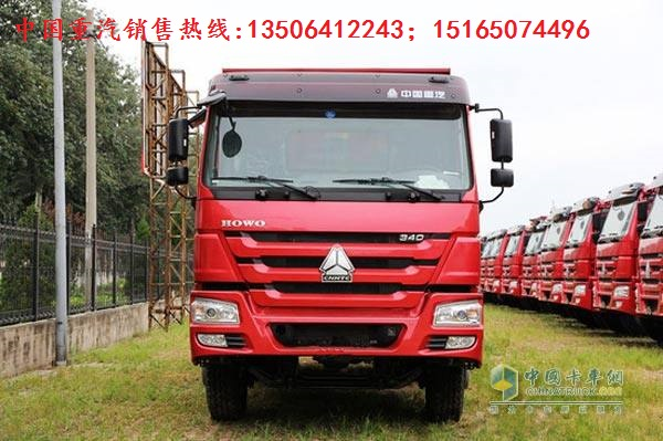 济南厂家促销豪沃国五自卸车价格