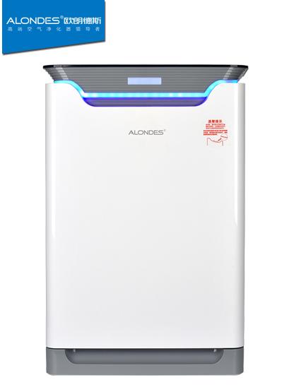 欧朗德斯空气净化器家用智能控制H8除甲醛雾霾PM2.5加湿一体定时