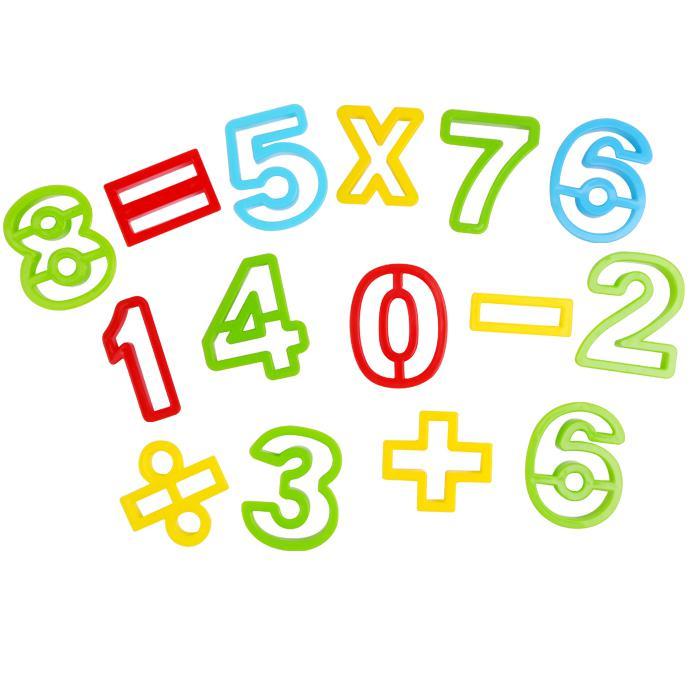 儿童益智玩具diy太空沙模具26个英文字母镂空模型批发图片