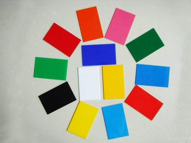 彩色亚克力板,高透明有机玻璃板,亚克力扩散板