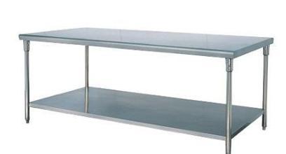 捷厨不锈钢双层平板工作台