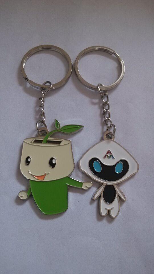 武汉学校金属钥匙扣制作厂家尺寸大小钥匙扣专业定做厂家