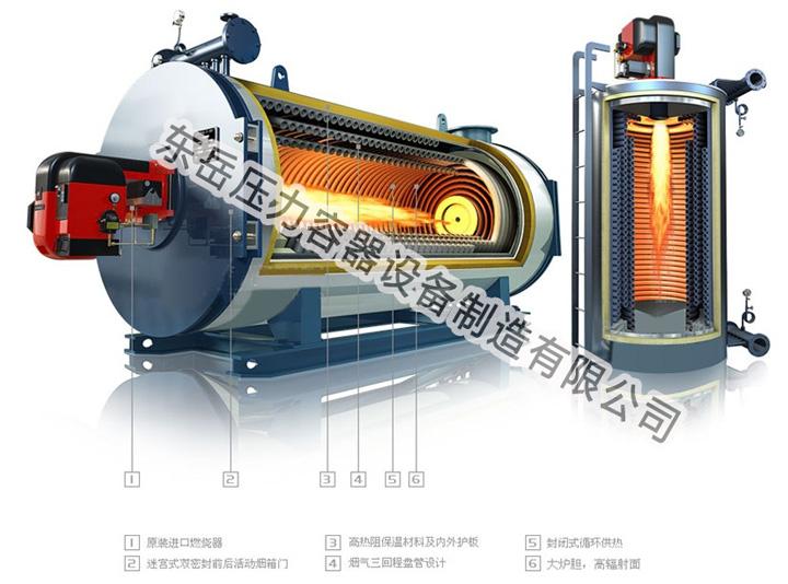 原厂销售SZS燃油(气)蒸汽锅炉