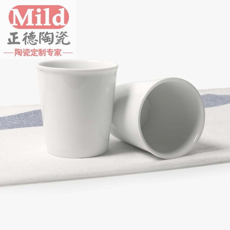 陶瓷口杯厂家 口杯广告批发