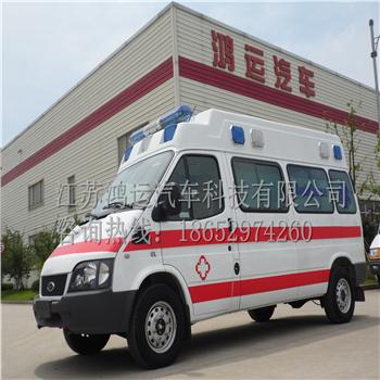 福特救护车全顺救护车厂家直销汽油版全顺救护车价格
