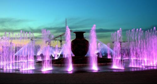 湖北和之源喷泉