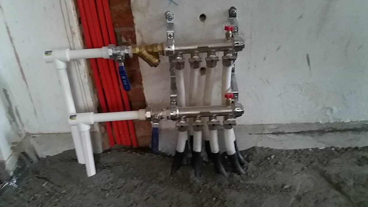 敦化路小区地暖安装 市北暖气改造维修 市北地暖安装维修 市北换分水器