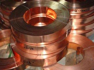 大量批发软态铜带 0.1mm冲压红铜带现货分条