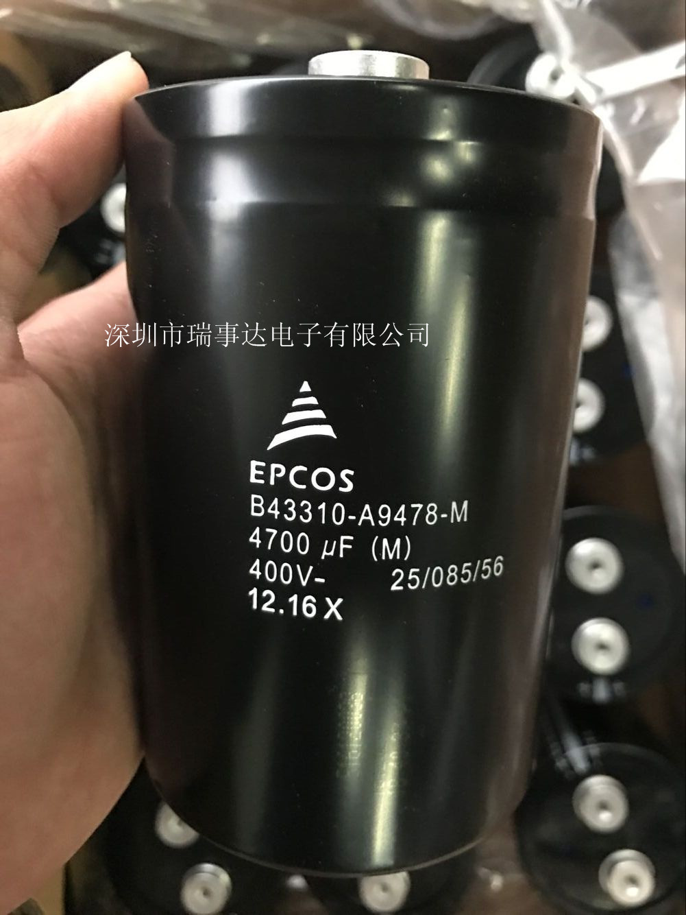 EPCOS B43456-S9608-M21电容器6000UF/400V
