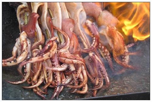 武汉烤鱿鱼加盟|武汉毛明圣餐饮|烤鱿鱼加盟供应