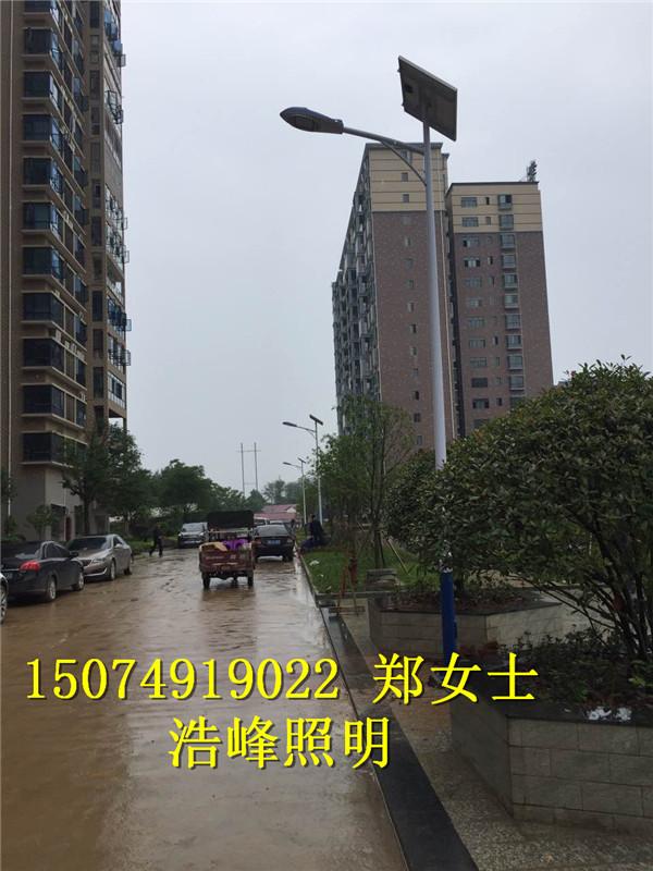 湖北宜昌太阳能路灯厂家 太阳能led路灯价格表