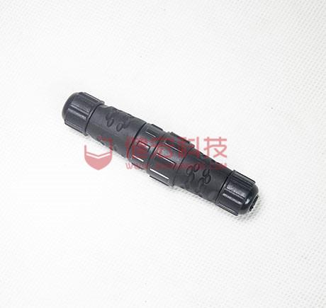 广东深圳M23防水连接器户外照明灯具防水连接器特价