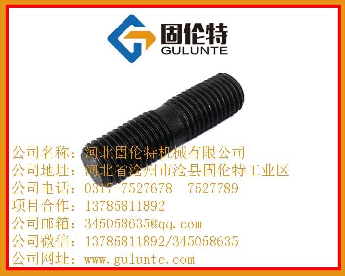 双头螺栓,国标高强度螺栓,生产厂家,固伦特,M10优质双头螺丝