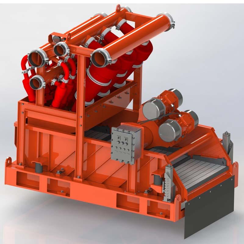 泥浆清洁器钻井液泥浆清洁器除砂除泥振动筛一体机固控设备
