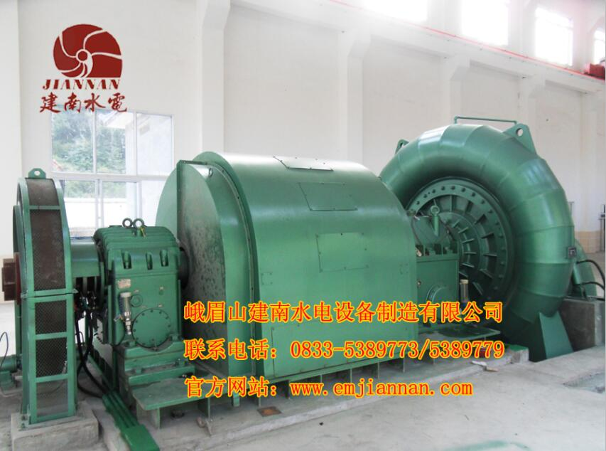 数控加工混流式水轮机
