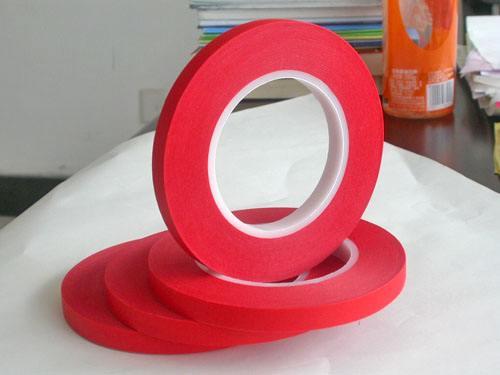 红色高温美纹纸胶带生产厂家