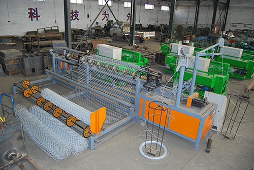 专业生产销售全自动勾花网机器 煤矿支护网机器 锚网机 出口品质售后完善