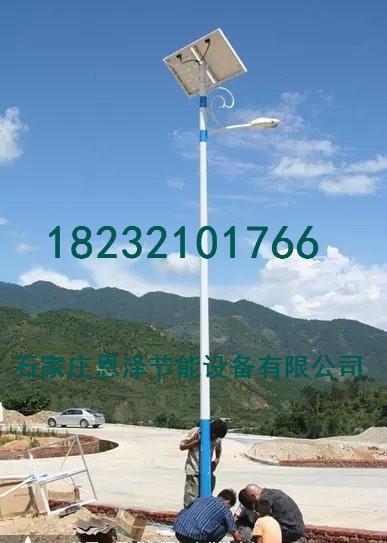 河北唐山地区锂电池和胶体电池的太阳能路灯出厂价格
