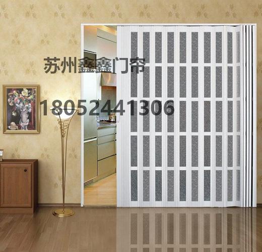 常熟折叠门,推拉折叠门,常熟pvc折叠门,移动折叠门