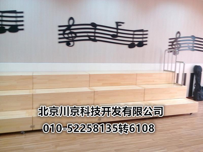 音乐教室用木质组合合唱台 大合唱用樟子松实木合唱台阶