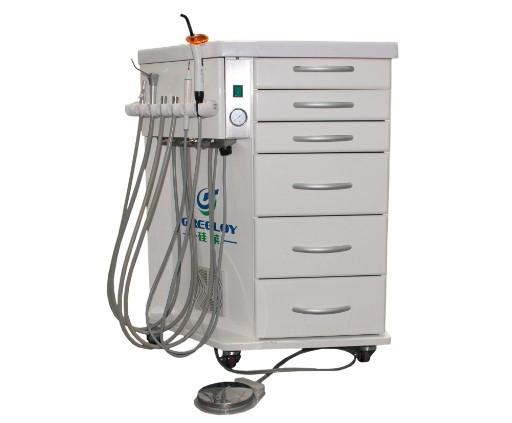 供应硅莱边柜式牙科治疗机GU-P211