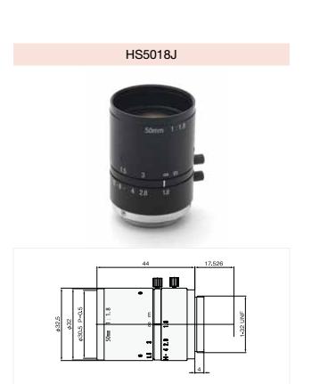 视觉系统专用工业镜头 工业镜头选型 工业镜头原理