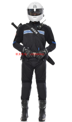 2017最新款警用特警骑行服安全反光耐磨 安全骑行服