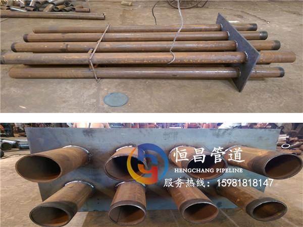 自来水净化厂专用钢制防水套管通过各项质量认证