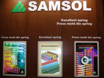 韩国SAMSOL三松模具弹簧