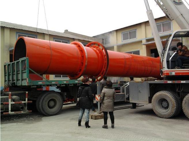 富威重工直销Φ1.8×14m转筒干燥机 砂石烘干设备