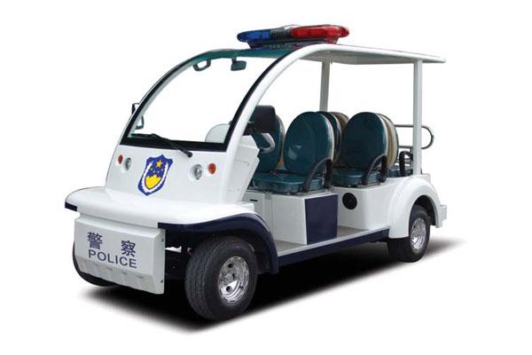 供应沃顺达6座电动巡逻车方面快捷,对地形、路况的适应能力强。