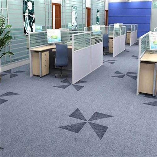办公地毯_大于地毯西北经销处_办公地毯定制
