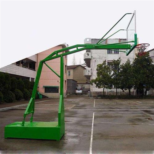 广西平箱篮球架|强森体育加工|固定式平箱篮球架