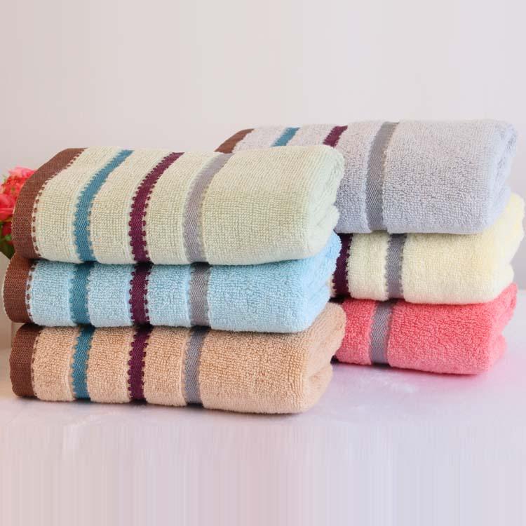 迎春雨 纯棉毛巾厂家 加厚柔软吸水面巾 礼品毛巾