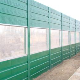 景观型隔音墙中间透明部分是哪种材料