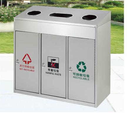 新佳豪厂家直销环卫垃圾桶 小区街道物业高档实用室外垃圾桶