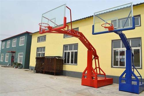 手动液压篮球架厂家、江苏手动液压篮球架、强森厂家直销(多图)