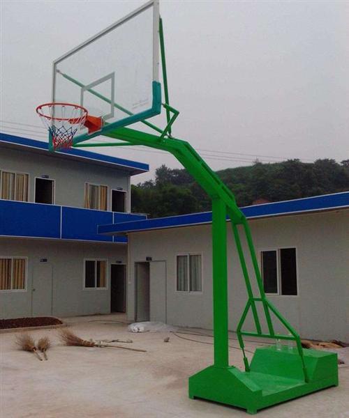 双位方管篮球架|山东方管篮球架|强森体育(查看)