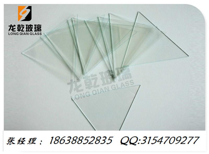 定制钠钙玻璃小片改切圆形/长方形/异形平面加工