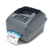 斑马GX-420T 300dpi 桌面条码打印机不干胶标签打印机