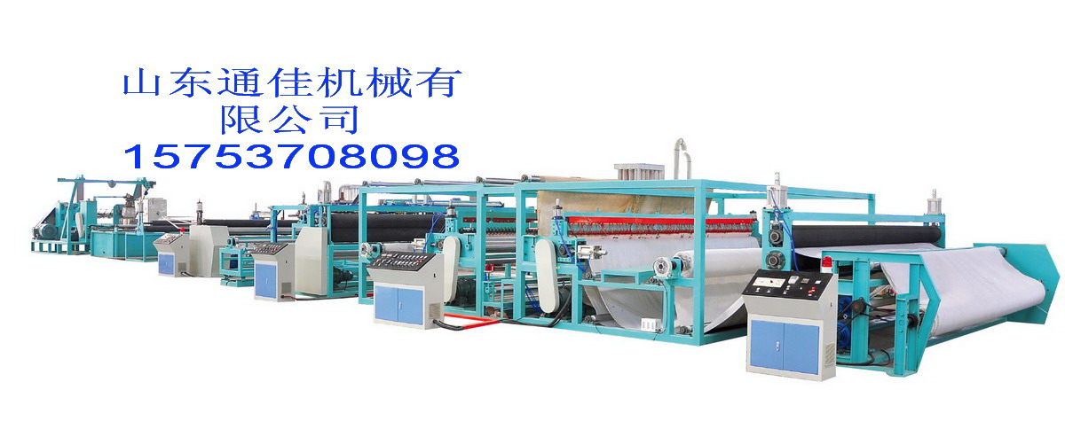 钢塑复合土工格栅生产线